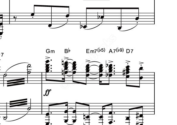 ルパン 三世 の テーマ ピアノ
