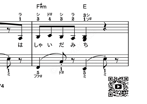 パプリカ 歌詞コード