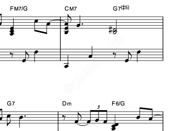 赤鼻のトナカイのピアノ楽譜クリスマスソング