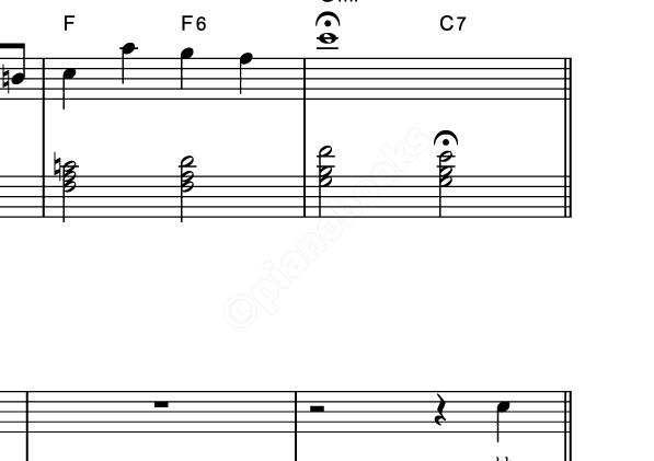 ジングルベルのピアノ楽譜クリスマスソング